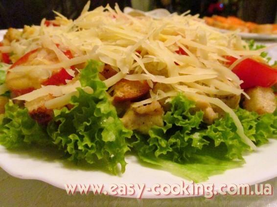 Простые и вкусные рецепты салатов: салаты с мясом, с курицей, с грибами...