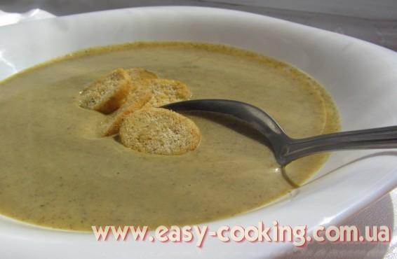 зупа з броколі, крем-суп з броколі
